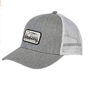 Billabong Men's Walled Trucker Hat Grey One Size